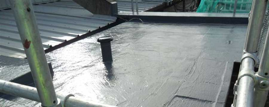 Liquid Coating Roof Projects