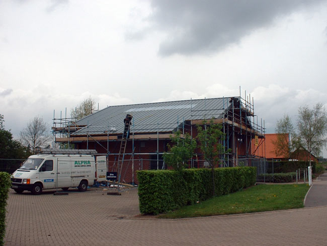 Alpha Roofing Services Ltd Metal Sheeting Projects