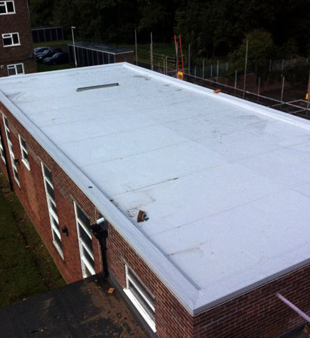 Alpha Roofing Services Ltd  - Single Ply Roofing Projects